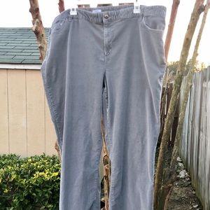 Liz Claiborne CorduroyJeans Stretch Pants Sz.24